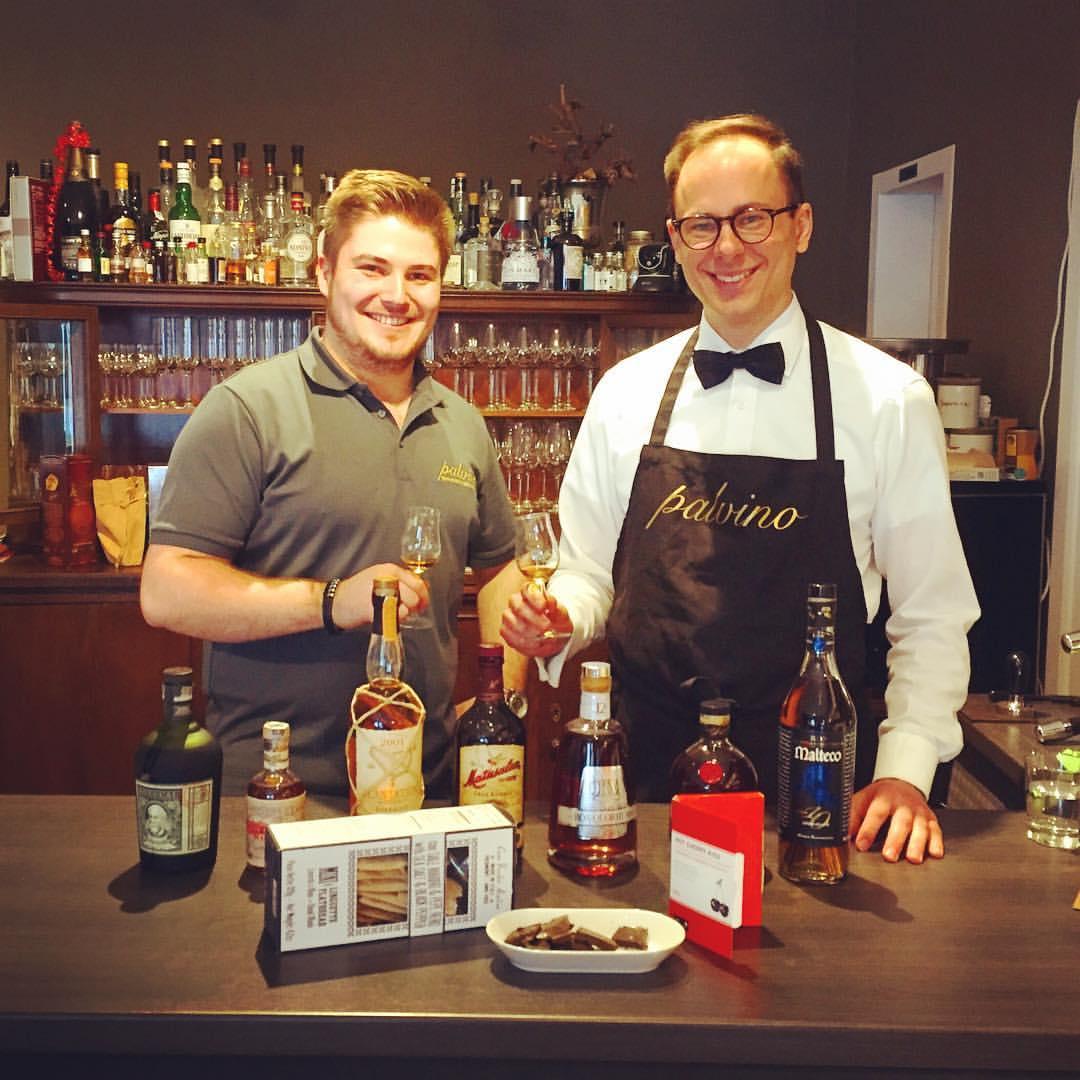 palvino Eppingen Rum Tasting