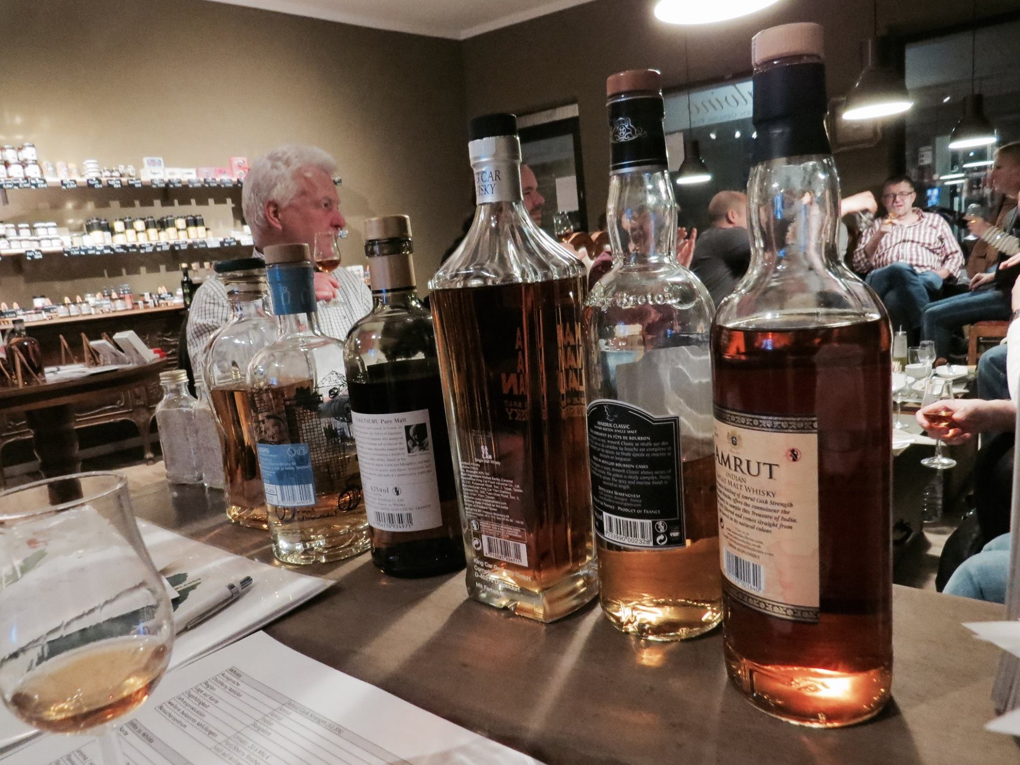 around the world whisky tasting palvino eppingen