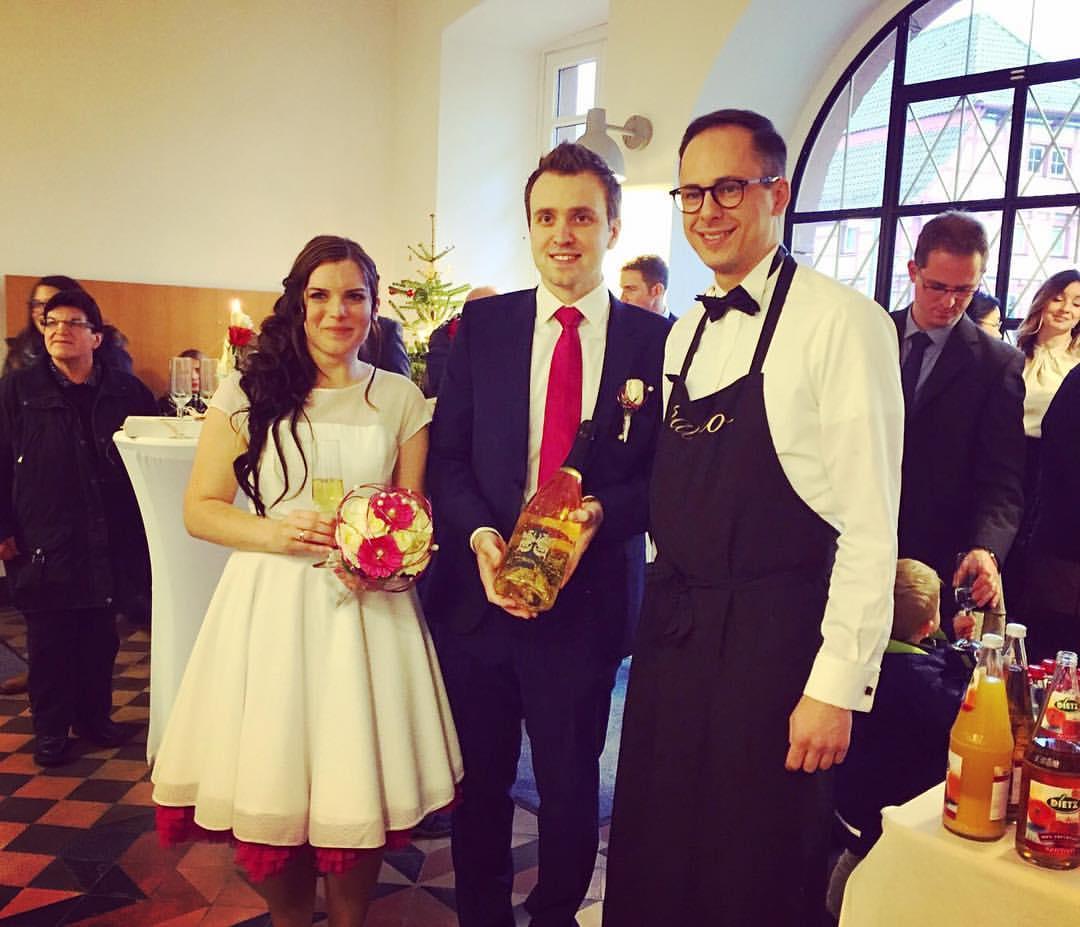 Sektempfang Hochzeit Eppingen Rathaus Marktplatz
