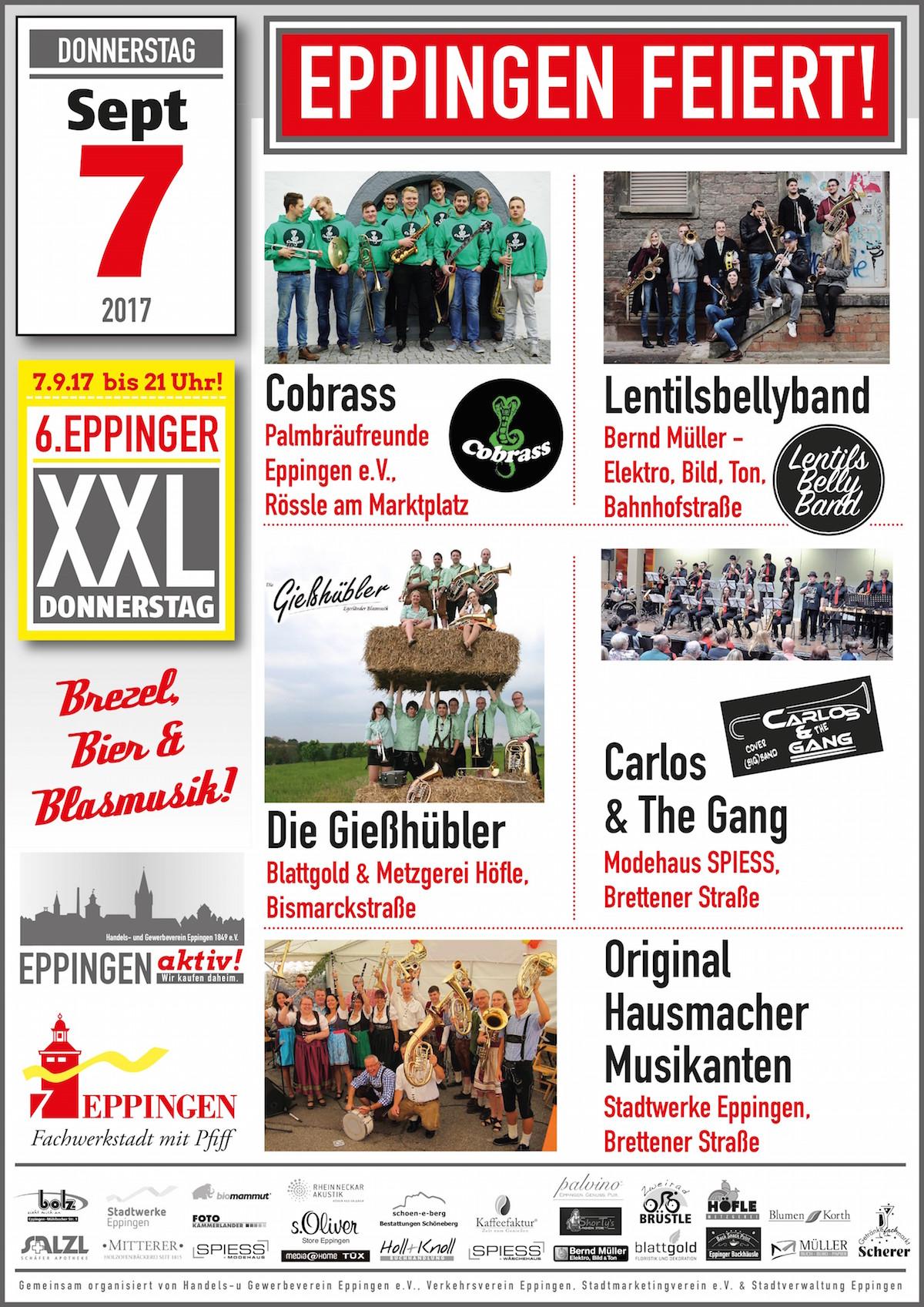 """6. XXL Donnerstag """"Eppingen feiert"""" palvino"""