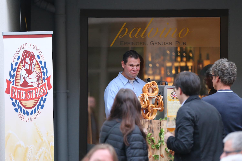 Eppingen feiert im Palvino mit Craftbier von Vater Strauss